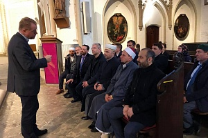"""To invite the Imam of the Al-Nur mosque from New Zealand to the EMF seminar is a gesture of solidarity with the Muslims of New Zealand"" - Damir Mukhetdinov"