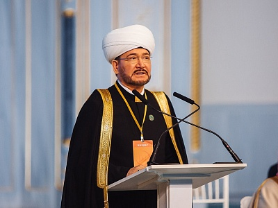 Report of the Chairman of the Religious Board of Muslims of the Russian Federation and the Council of Muftis of Russia Sheikh Mufti Ravil Gaynutdin at the 7th Congress of the Religious Board of Muslims of the Russian Federation