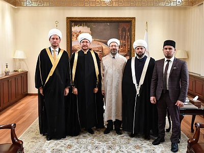 Executive Secretary of the International Muslim Forum Damir Mukhetdinov met with the mufti of Turkey